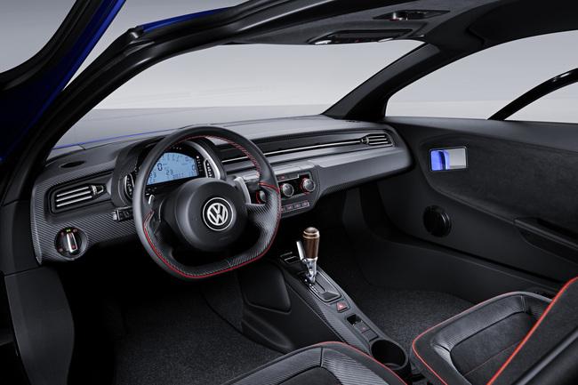 Volkswagen XL Sport Concept 2014 interior 01