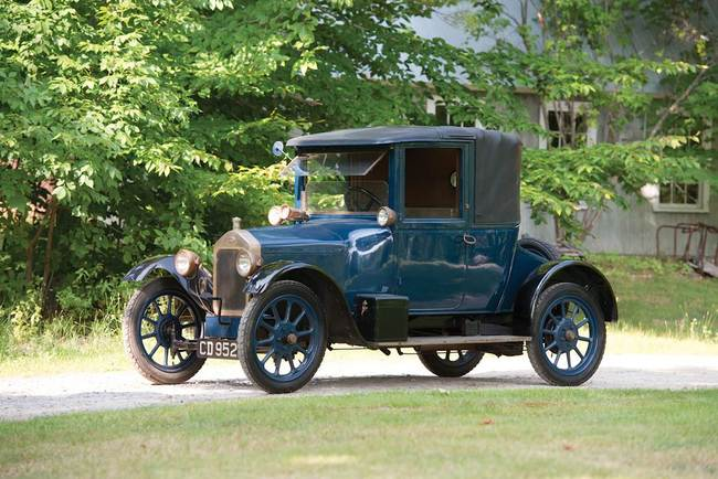 W - 1921 Wolseley Ten Coupe