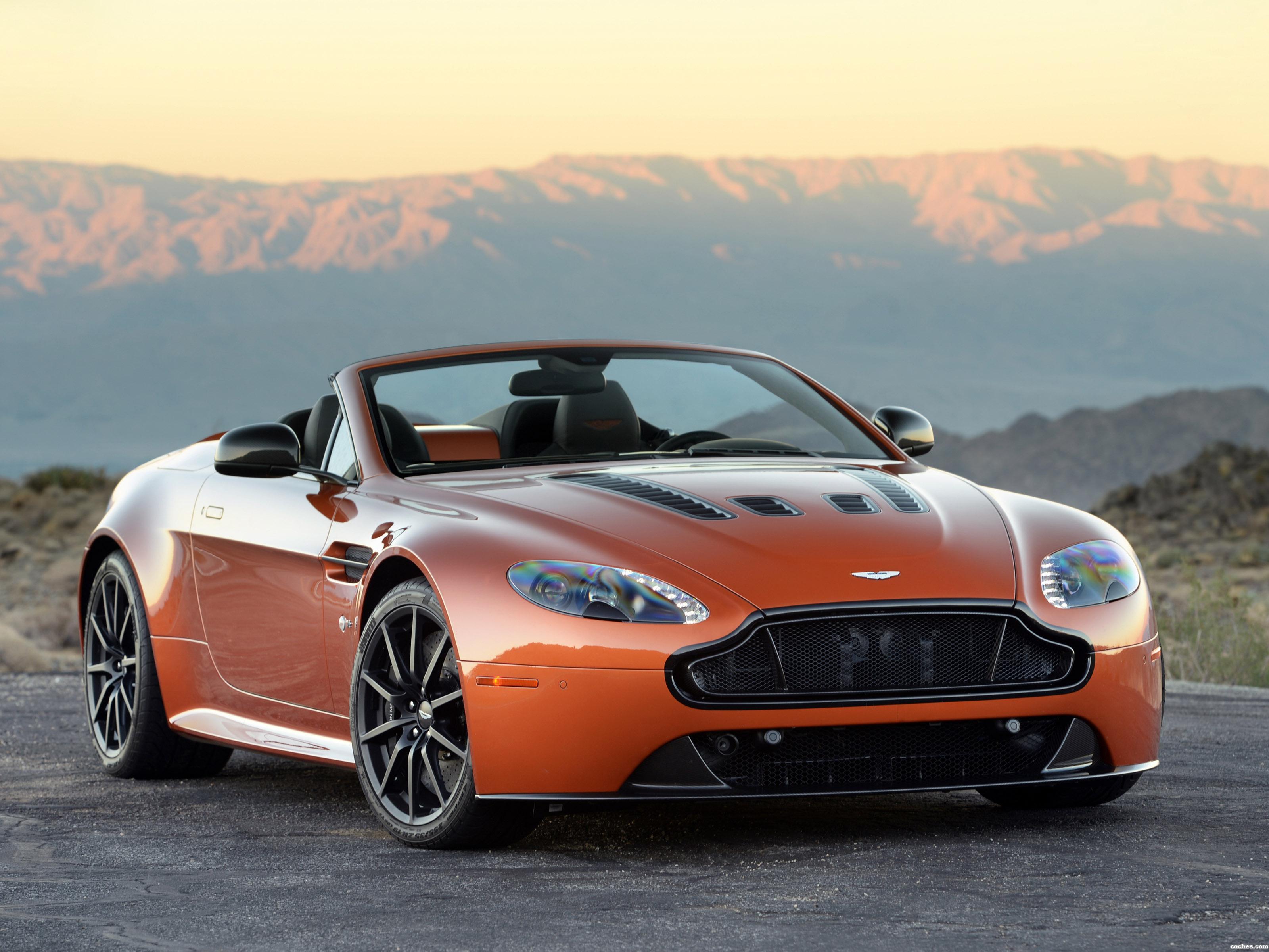 Fotos De Aston Martin V12 Vantage S Roadster Usa 2014 Foto 5