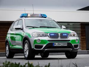 BMW X3 Polizei F25 2014
