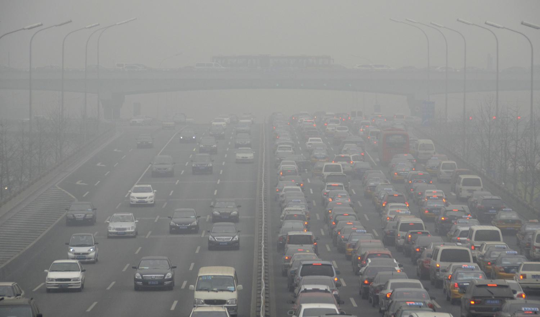 Image: An expressway in Beijing