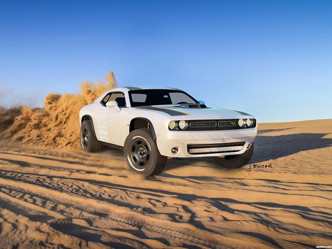 dodge_challenger-at-untamed-concept-2014_r3