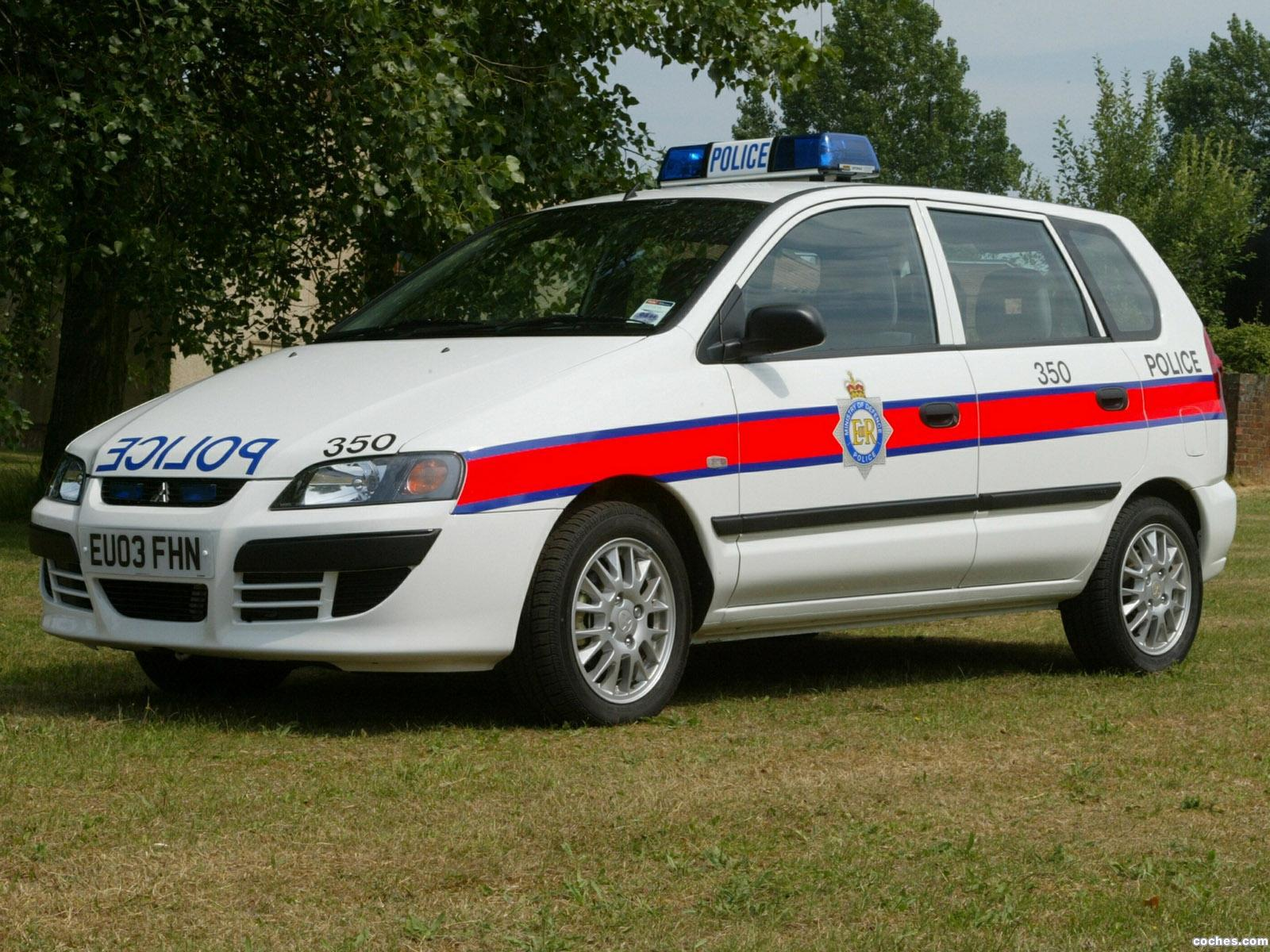 fotos de mitsubishi space star police car 2002. Black Bedroom Furniture Sets. Home Design Ideas