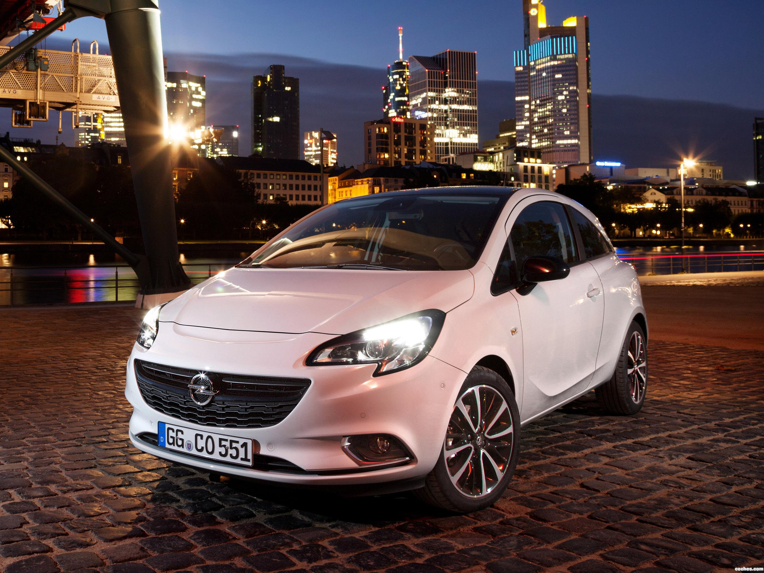 fotos de opel corsa 3 puertas color edition 2015. Black Bedroom Furniture Sets. Home Design Ideas