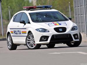 Seat Leon Police Car 2009