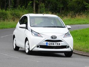 Toyota Aygo 3 door UK 2014