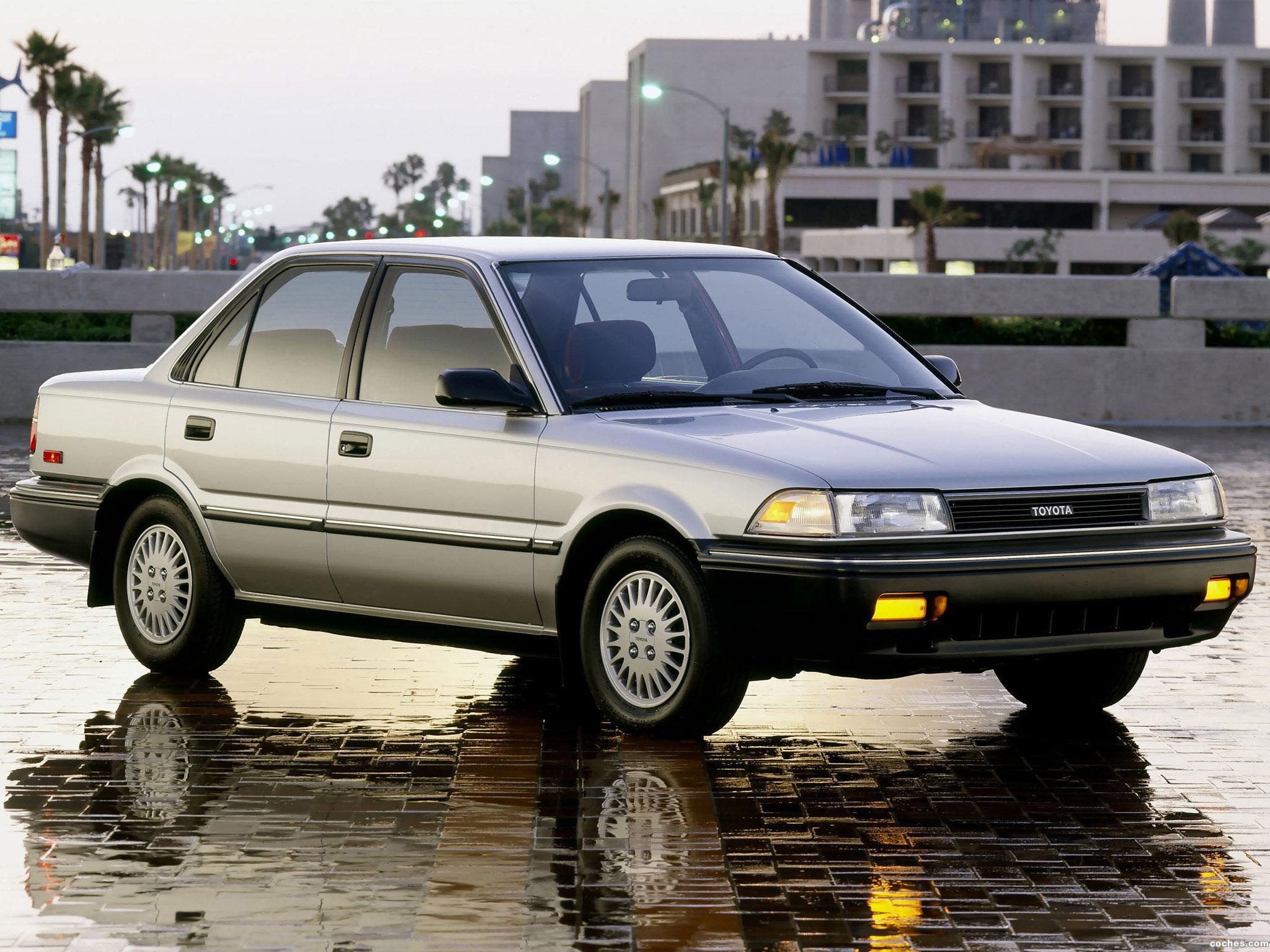 2010 Toyota Corolla S >> Fotos de Toyota Corolla Sedan Deluxe USA 1987