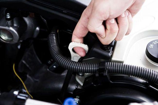 varilla nivel aceite coche