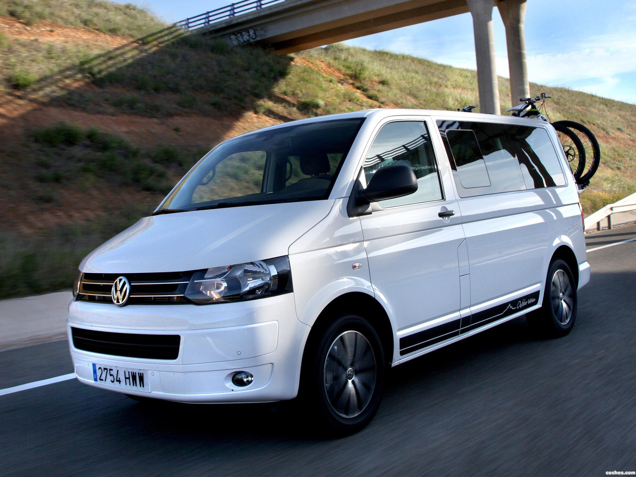 fotos de volkswagen transporter t5 multivan outdoor edition 2014