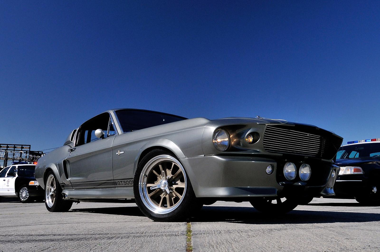 Un Shelby Mustang Gt500 Eleanor De 60 Segundos A Subasta