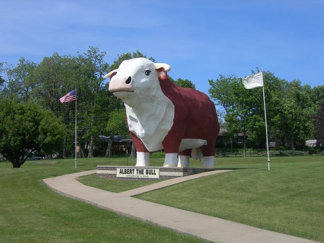 Albert The Bull - Audubon, Iowa - Flickr Jimmy Emerson