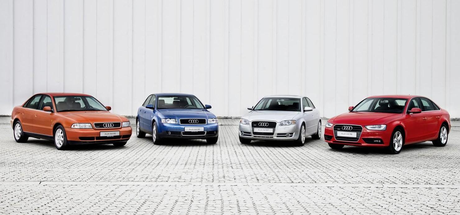 Historia Del Audi A4 20 A 241 Os De 233 Xito