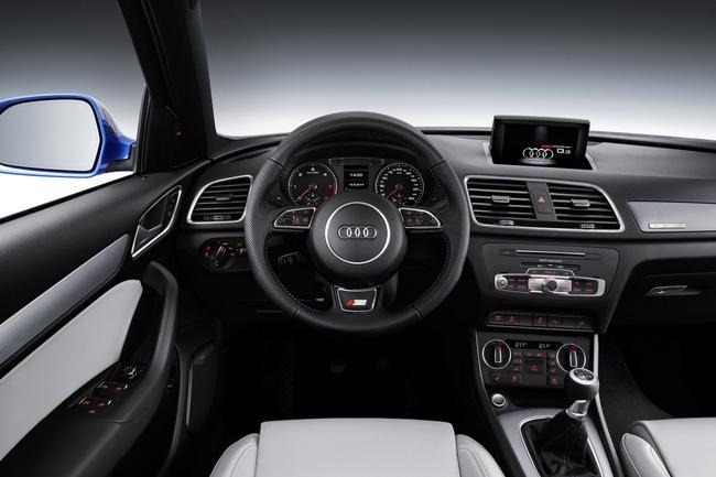 Audi Q3 2015 interior 01