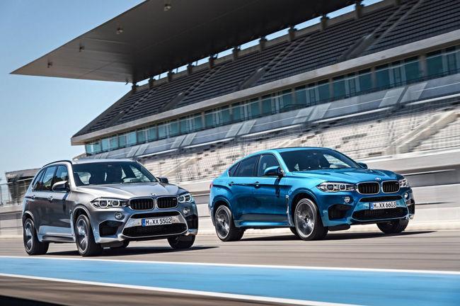 BMW X5 BMW X6 2015 01