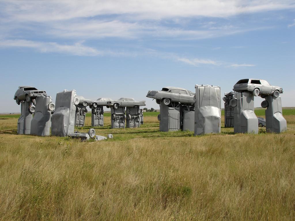 Carhenge – Alliance, Nebraska – Flickr Kevin Saff