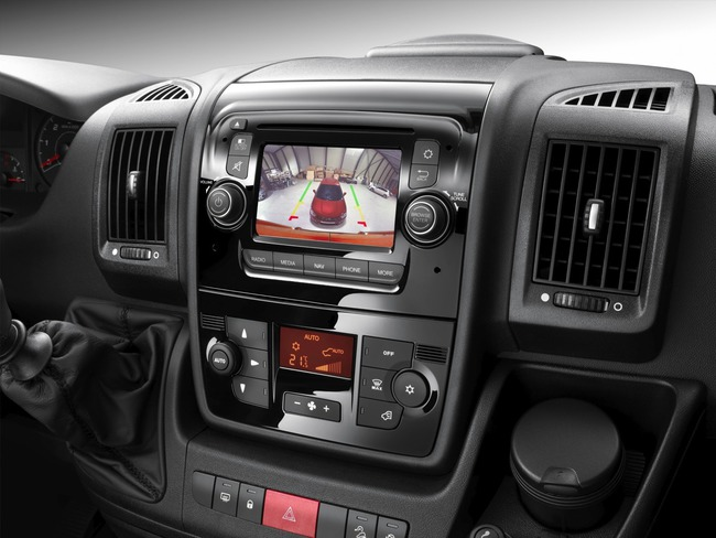 Citroen Jumper 2014 interior 09