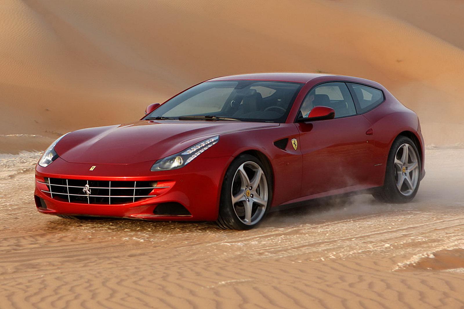 Ferrari FF dunas