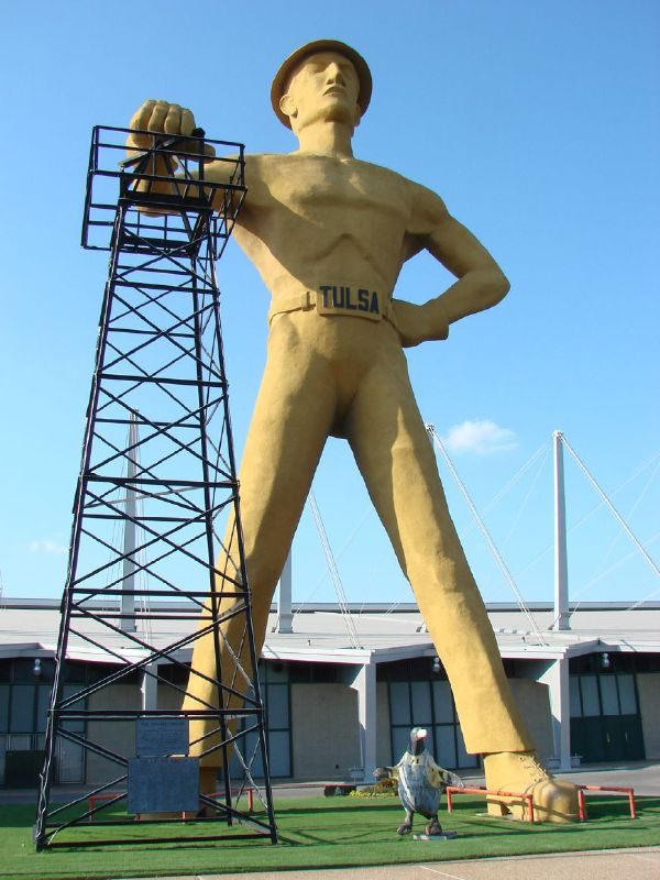 Golden Driller -  Tulsa, Oklahoma