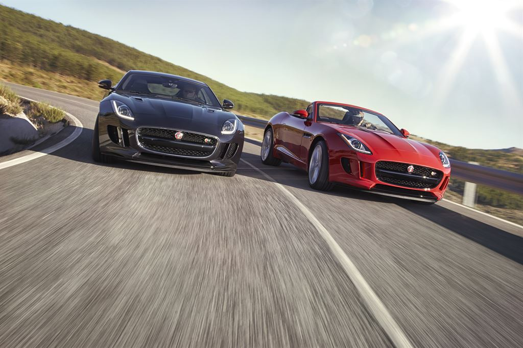 Jaguar F-Type + Jaguar F-Type Convertible 2016