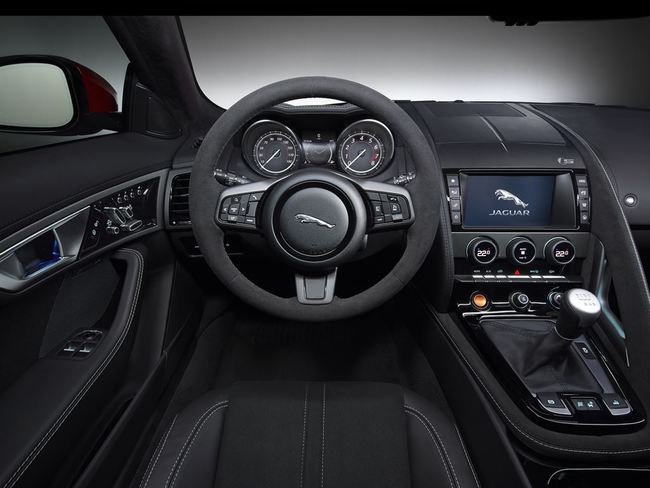 Jaguar F-Type Convertible 2016 interior 04