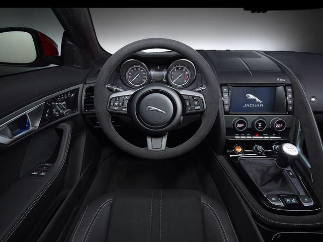 Jaguar F-Type Convertible 2016 interior 04