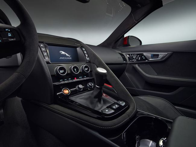 Jaguar F-Type Convertible 2016 interior 05
