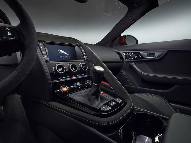 Jaguar F-Type Convertible 2016 interior 05