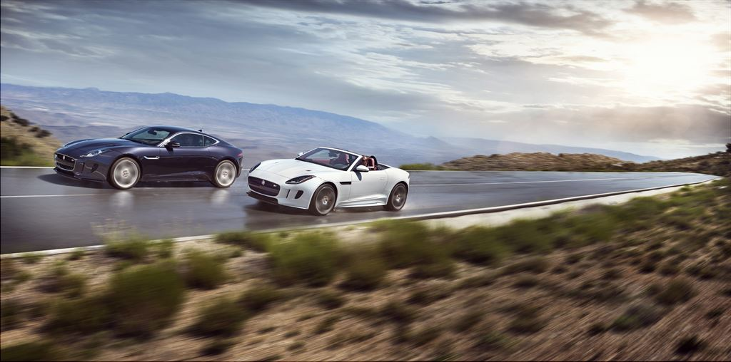Jaguar F-Type y Jaguar F-Type Convertible 2016