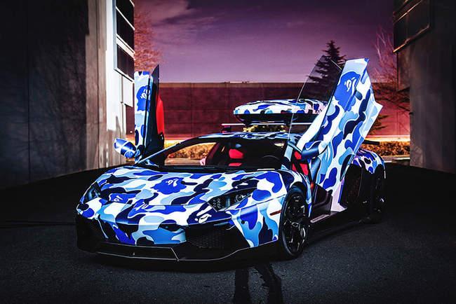 Lamborghini camuflaje