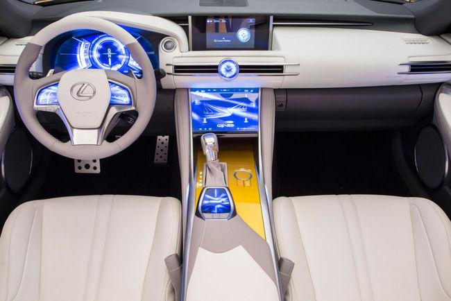 Lexus LF-C2 Concept 2014 24