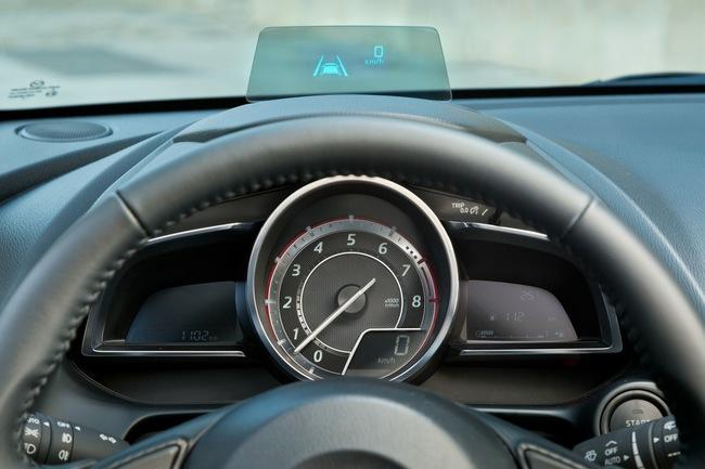 Mazda 2 2015 interior 01