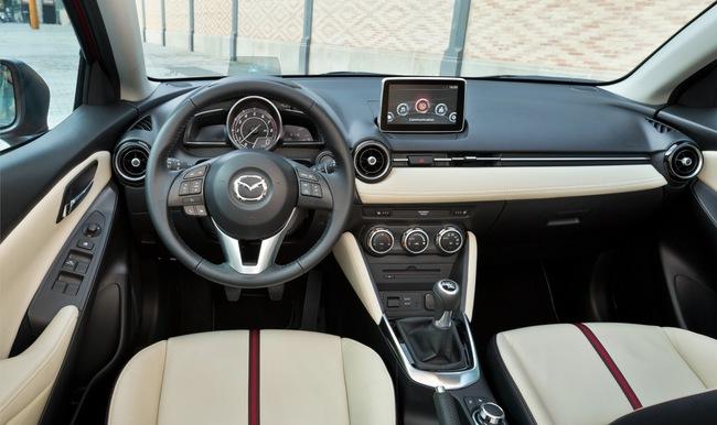 Mazda 2 2015 interior 02
