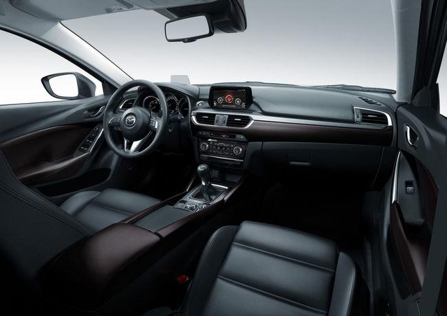 Mazda 6 2015 interior 07
