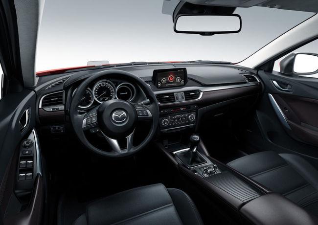 Mazda 6 2015 interior 09