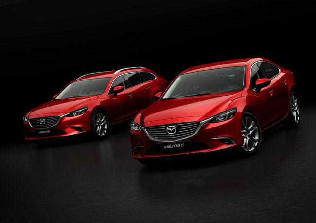 Mazda 6 y Mazda 6 Wagon 2015