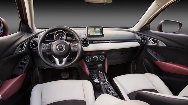 Mazda CX-3 2015 interior 02