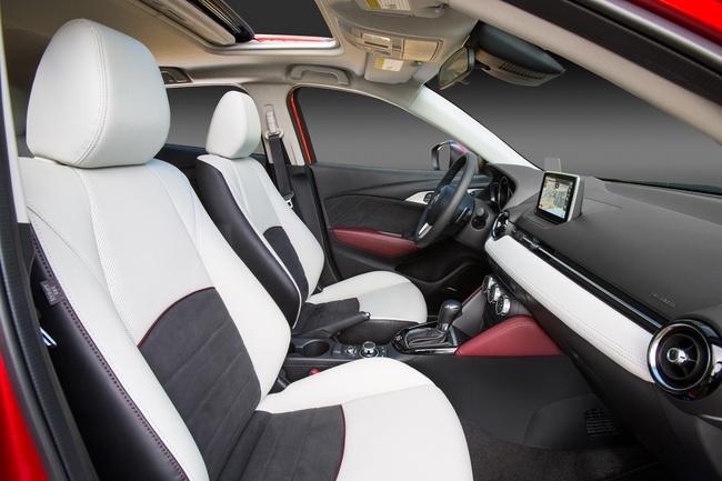 Mazda CX-3 2015 interior 03