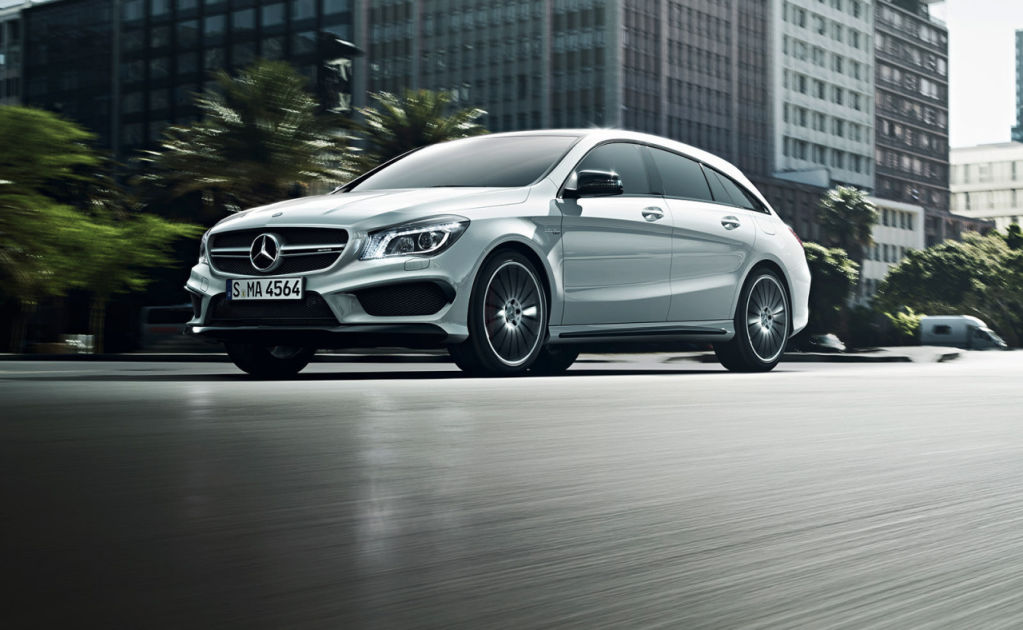 Mercedes-Benz CLA 45 AMG Shooting Brake 2015 14