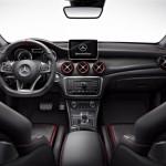 Mercedes-Benz CLA 45 AMG Shooting Brake 2015 interior 04