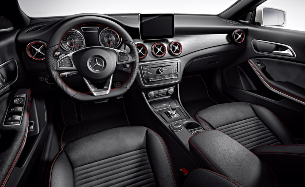 mercedes benz 2014 cla amg interior pictures to pin on pinterest pinsdaddy. Black Bedroom Furniture Sets. Home Design Ideas