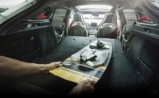 Mercedes-Benz CLA 45 AMG Shooting Brake 2015 interior 10