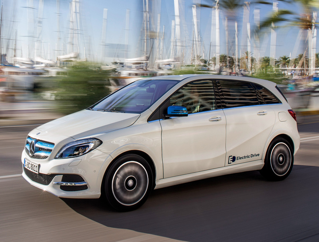 Mercedes-Benz Clase B Electric Drive 2015 13