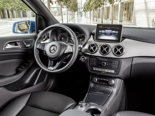 Mercedes-Benz Clase B Electric Drive 2015 interior 01