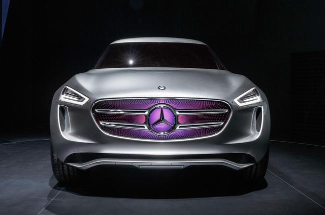 Mercedes-Benz G-Code Concept 2014 10