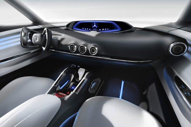 Mercedes-Benz G-Code Concept 2014 interior