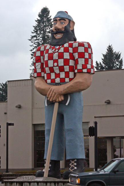 Paul Bunyan - Portland, Oregon - jill, jellidonut... whatever