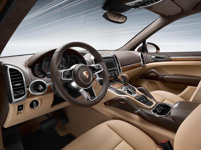Porsche Cayenne 2015 interior