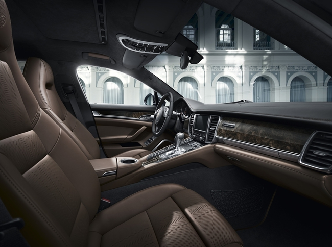 Porsche Panamera Exclusive Series 2014 interior 01