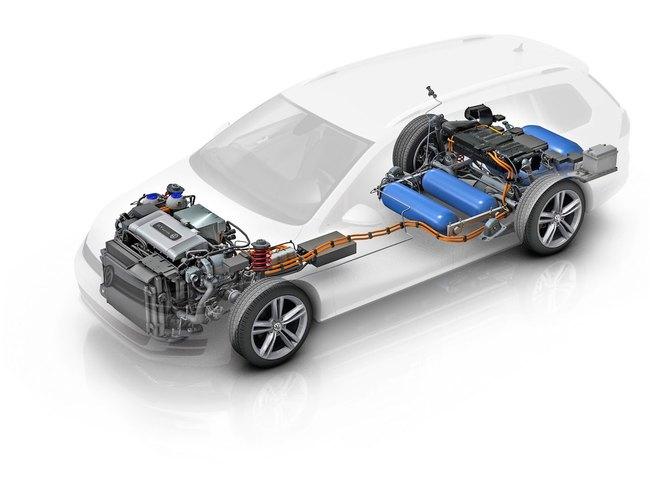 Volkswagen Golf Variant HyMotion Concept 2014 03