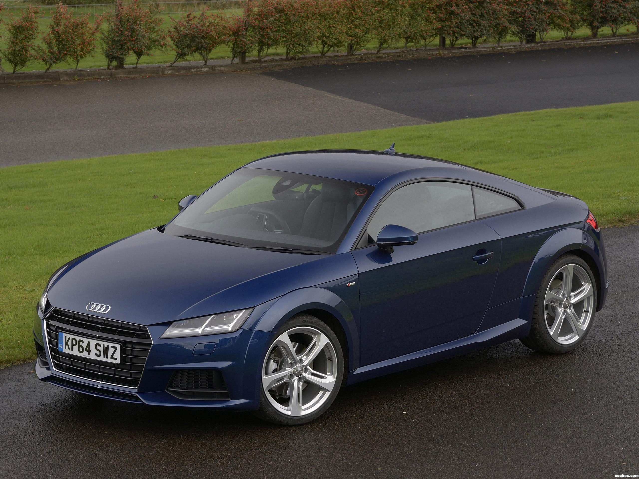 fotos de audi tt coupe s line 2 0 tfsi uk 2015. Black Bedroom Furniture Sets. Home Design Ideas